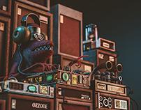 Dj Electro Lizard
