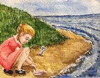 Illustration for children's poetry