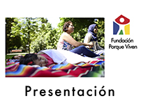 Video presentation of the NGO Porque Viven