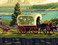The Oregon Trail: Choose Your Own Trail artwork