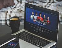 Kuis EURO | Website Design
