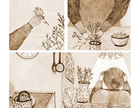 Personal Project - one day at the time - pencil