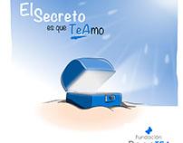 """Ilustraciones de cuento """"El Secreto es que TeAmo"""""""