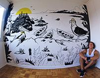 Caleta Maite Mural