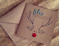 Tarjetas Navidad (Fundación Santiago Corazón)
