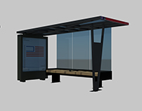 SEPTA's new bus shelters digital models