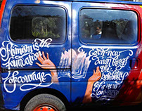 Car-Art Calligraphy by Likhawat.
