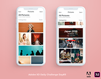 Adobe XD Daily Challenge - Day #3