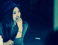 Monica Cho - Street Shoot