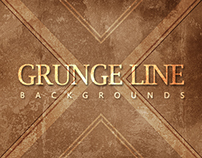 20 Grunge Line Backgrounds - $3
