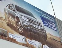 Diseño y retoque Campaña Días Amarok, Volkswagen