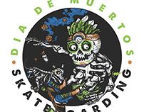 Día de muertos Skateboarding
