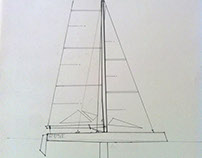 boat/yacht design. drawings, sketches & illustrations