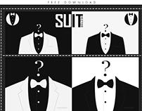 Free Download man suit vector
