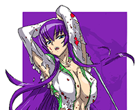 Highschool of the Dead Pop Art