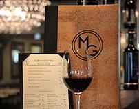 Midtown Grille Menu Design