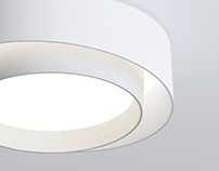 Centric ceiling leds lamp
