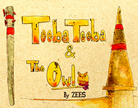 Teeba Teeba & the Owl - Children's book by ZEES