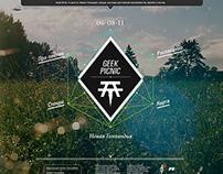 Geek Picnic promo | Web