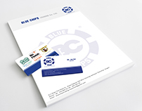 Blue Chips Logo & Branding