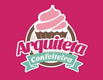 Logo: Arquiteta Confeiteira