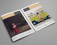 Manifest Fashion Brochure / Magazine / Lookbook