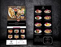 Restaurant Rack Card Template