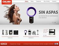 Sitio web Calma