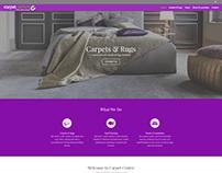 Carpet Centre WordPress Design