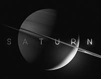 Saturn and Enceladus