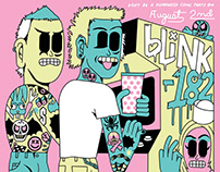 Blink-182 Poster Art | Art Director Mike Krol