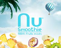 nuSmoothie | Premium Smoothie |100% Fruit