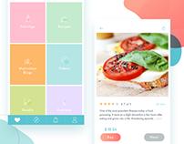 UI healthy app