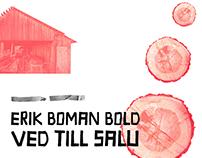 Erik Boman Bold - A Font