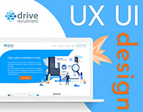 "Website for recruitment company ""Drive recruitment"""