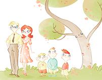 children's illustration (sketches)