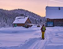 Siberia ski touring trip 2017