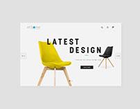 Athome furniture website redesign