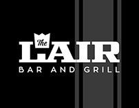 Logo and Menu Design for The Lair