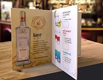 Koneser drink menu