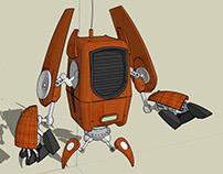 Inspired by Amusing Robots (Ruslan Safarov)