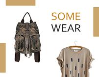 SomeWear. E-commerce concept