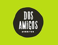 Dos Amigos Burritos Rebrand