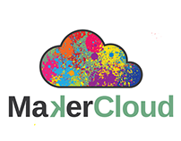 MakerCloud Logo Design