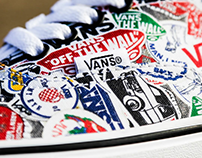 Vans 50th Anniversary Sticker Pack