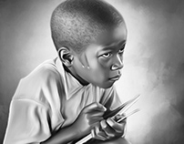 """Hard Lesson"" Digital Art by Wayne Flint"