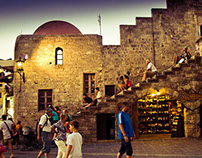 City of Rhodes, Greece