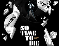 NO TIME TO DIE 007 Movie Poster