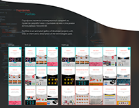 Website for frontend developer
