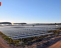 Centrale solaire à concentration